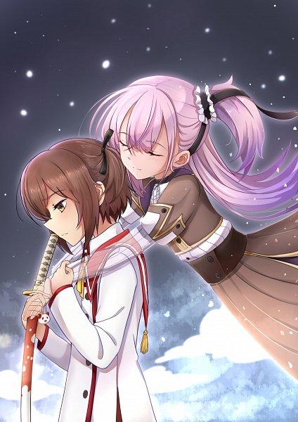 Tags: Anime, Pixiv Id 32074628, Toji no Miko, Tsubakuro Yume, Etou Kanami