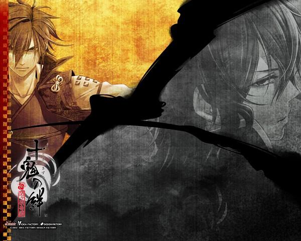 Tags: Anime, miko (Artist), IDEA FACTORY, Toki no Kizuna, Chitose (Toki no Kizuna), Kazuya (Toki no Kizuna), Wallpaper, Official Art, Official Wallpaper, Bond Of Ten Demons