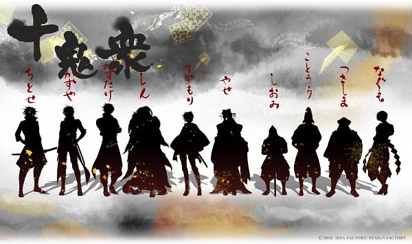 Tags: Anime, IDEA FACTORY, Toki no Kizuna, Suzumori Yukina, Kotoura Touma, Kazutake, Shiomi Akito, Kazuya (Toki no Kizuna), Yase Kazuha, Chitose (Toki no Kizuna), Tsukishima Isao, Shin (Toki no Kizuna), Nagumo Shuu, Bond Of Ten Demons