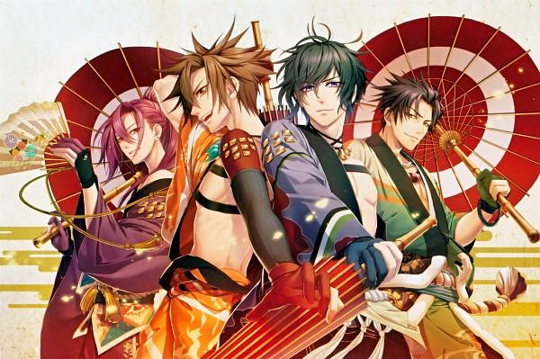 Tags: Anime, IDEA FACTORY, Toki no Kizuna, Chitose (Toki no Kizuna), Shin (Toki no Kizuna), Kazutake, Kazuya (Toki no Kizuna), Scan, Bond Of Ten Demons