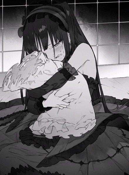 Tags: Anime, NOCO, Date A Live, Date A Bullet, Tokisaki Kurumi, Novel Illustration, Official Art