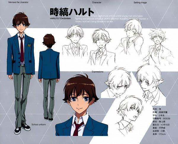 Tags: Anime, Sunrise (Studio), Kakumeiki Valvrave, Tokishima Haruto, Character Sheet, Official Character Information, Official Art