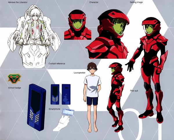 Tags: Anime, Sunrise (Studio), Kakumeiki Valvrave, Tokishima Haruto, Character Sheet, Official Character Information, Official Art