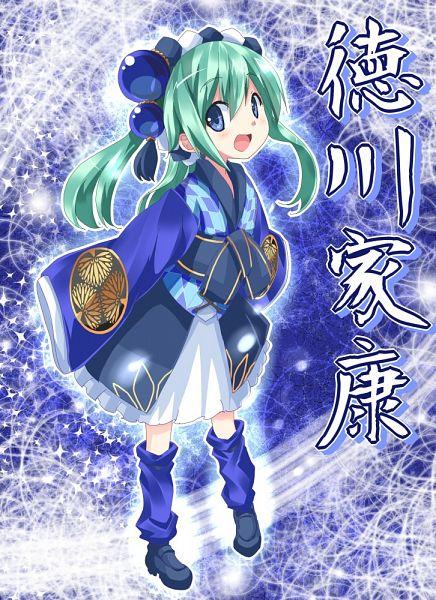 Tags: Anime, Hoshi Umi, Sengoku Collection, Tokugawa Ieyasu (Sengoku Collection)