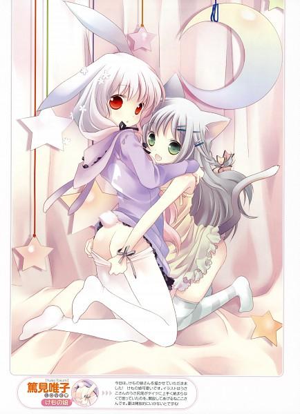 Tags: Anime, Tokumi Yuiko, Dengeki Moeoh 2010-10, Panties Down, Pixiv, Dengeki Moeoh