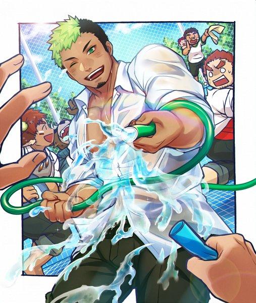 Tags: Anime, Gozu Farm, Tokyo Afterschool Summoners, Taurus Mask, Wakan Tanka, Ashigara (Tokyo Afterschool Summoners), Kyuma, Gunzo