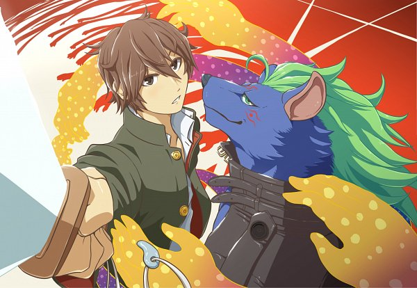 Tags: Anime, Pixiv Id 22906692, Tokyo Afterschool Summoners, Protagonist 4, Nyarlathotep (Tokyo Afterschool Summoners)