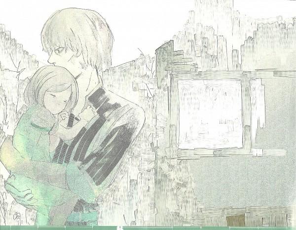 Tags: Anime, Ishida Sui, Tokyo Ghoul, Mado Akira, Mado Kureo, Official Art, Scan
