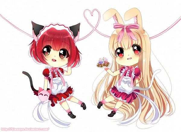 Tags: Anime, Himenya, Tokyo Mew Mew, Shirayuki Berry, Momomiya Ichigo, Masha, Fanart From DeviantART, Fanart From Pixiv, deviantART, Pixiv, Fanart