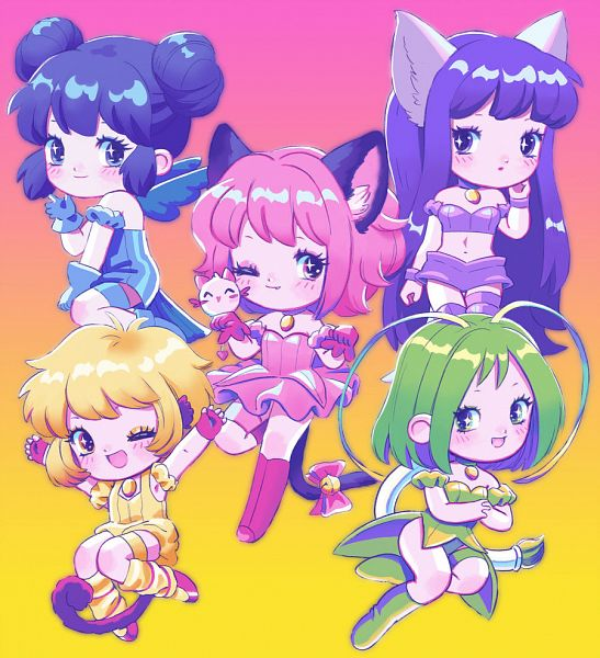 Tags: Anime, Lisa Frank, Tokyo Mew Mew, Mew Pudding, Mew Ichigo, Midorikawa Lettuce, Pudding Fon, Mew Zakuro, Aizawa Mint, Mew Lettuce, Momomiya Ichigo, Fujiwara Zakuro, Mew Mint