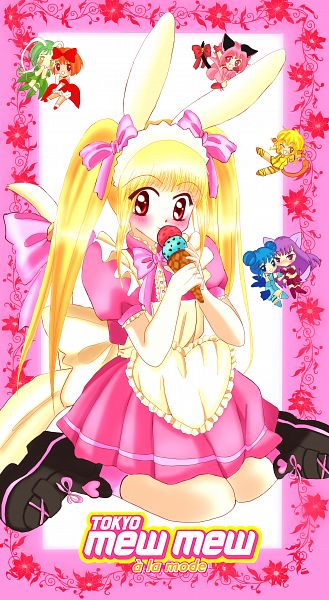 Tags: Anime, Colourthief, Tokyo Mew Mew, Mew Mint, Midorikawa Lettuce, Mew Pudding, Mew Ichigo, Mew Zakuro, Pudding Fon, Akai Ringo (Mew Mew), Mew Lettuce, Aizawa Mint, Mew Ringo