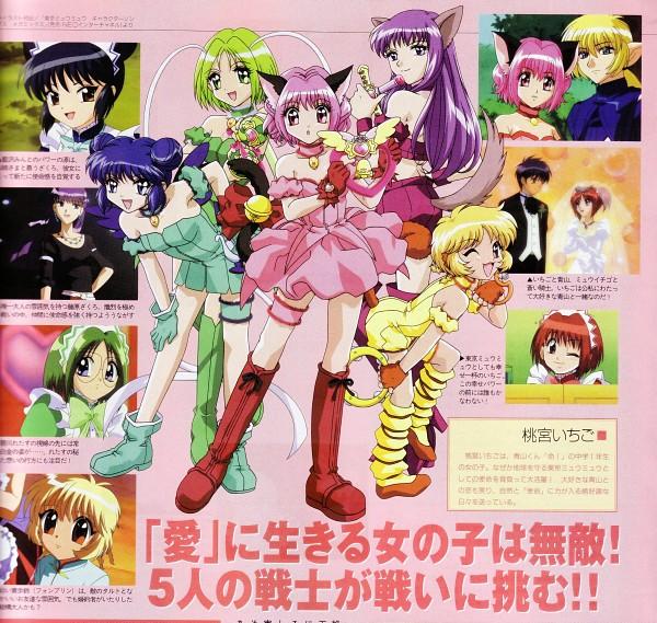 Tags: Anime, Tokyo Mew Mew, Mew Zakuro, Aizawa Mint, Blue Knight, Mew Lettuce, Momomiya Ichigo, Aoyama Masaya, Fujiwara Zakuro, Mew Mint, Mew Pudding, Mew Ichigo, Midorikawa Lettuce