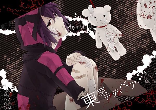 Tags: Anime, Kyou Zip, VOCALOID, Taito, Tokyo Teddy Bear, Fanart, Pixiv, Yandereloid