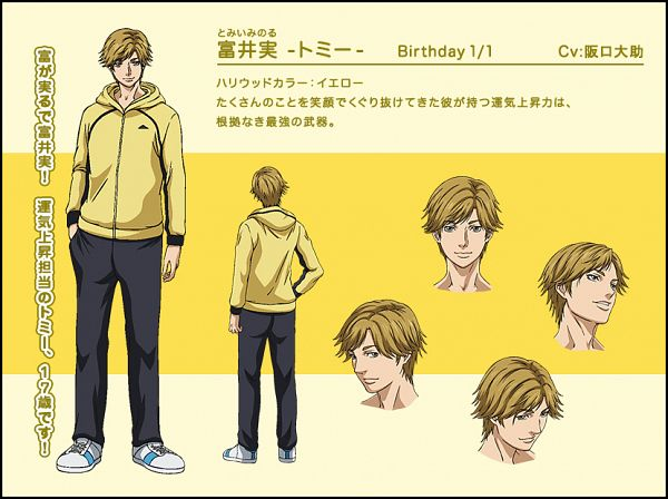Tags: Anime, Tsuchiya Kei, ZEXCS, Shounen Hollywood: Holly Stage For 49, Tomii Minoru, Yellow, Official Art, Cover Image, PNG Conversion