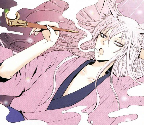 Tags: Anime, Suzuki Julietta, Kamisama Hajimemashita, Tomoe (Kamisama Hajimemashita), Scan, Official Art