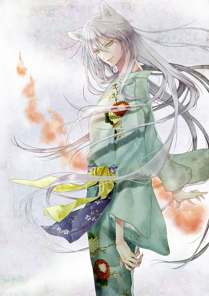 Tags: Anime, Ichige Yoru, Kamisama Hajimemashita, Tomoe (Kamisama Hajimemashita), Foxfire, Mobile Wallpaper, Fanart, Pixiv