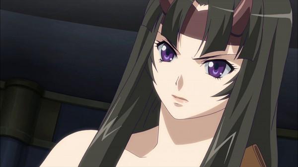 Tags: Anime, Queen's Blade, Tomoe (Queen's Blade), Screenshot, Wallpaper, HD Wallpaper