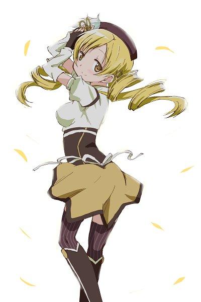 Tags: Anime, Kinfuji, Mahou Shoujo Madoka☆Magica, Tomoe Mami, Backlight