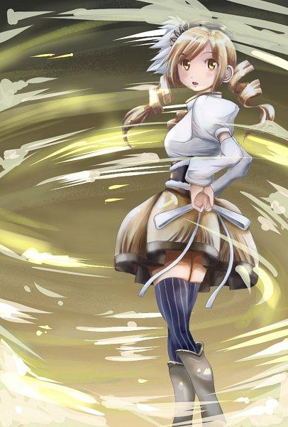 Tags: Anime, Pixiv Id 11675312, Mahou Shoujo Madoka☆Magica, Tomoe Mami