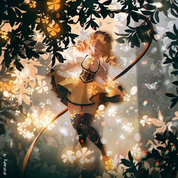 Tags: Anime, Pixiv Id 12355624, Mahou Shoujo Madoka☆Magica, Tomoe Mami, Fanart, Fanart From Pixiv, Pixiv