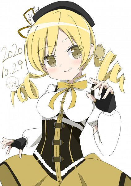 Tags: Anime, Pixiv Id 37432797, Mahou Shoujo Madoka☆Magica, Tomoe Mami, 2020, Fanart From Pixiv, Pixiv, Fanart
