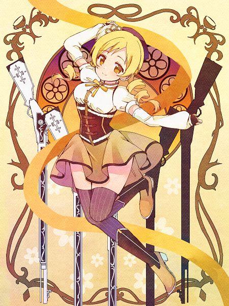 Tags: Anime, Pixiv Id 57124400, Mahou Shoujo Madoka☆Magica, Tomoe Mami, Multiple Weapons