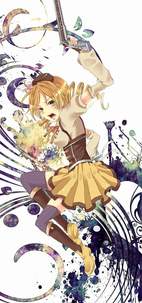 Tags: Anime, Fukutsuu, Mahou Shoujo Madoka☆Magica, Tomoe Mami
