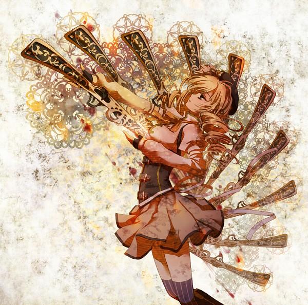 Tags: Anime, Nitou Akane, Mahou Shoujo Madoka☆Magica, Tomoe Mami