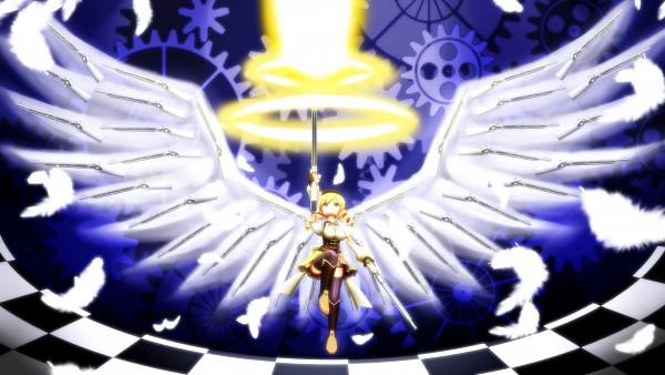 Tags: Anime, Cerberus1013, Mahou Shoujo Madoka☆Magica, Tomoe Mami, Wallpaper, HD Wallpaper
