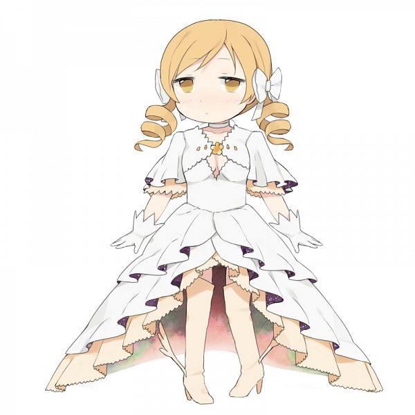 Tags: Anime, Knt31, Mahou Shoujo Madoka☆Magica, Tomoe Mami, Ultimate Madoka (Cosplay), Fanart, Pixiv