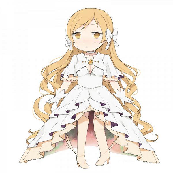 Tags: Anime, Knt31, Mahou Shoujo Madoka☆Magica, Tomoe Mami, Ultimate Madoka (Cosplay), Pixiv, Fanart