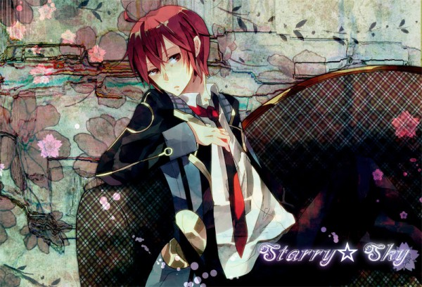 Tags: Anime, Amana Raika, Starry☆Sky~, Tomoe Yoh, Pixiv, Fanart, Starry☆Sky ~in Spring~