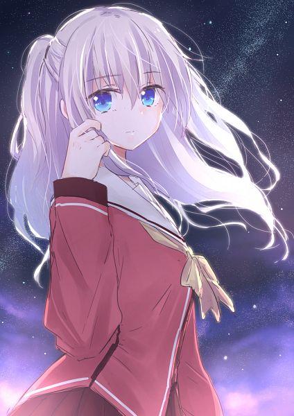 Tags: Anime, Matsuda Hikari, Charlotte (Series), Tomori Nao, PNG Conversion, Mobile Wallpaper, Fanart
