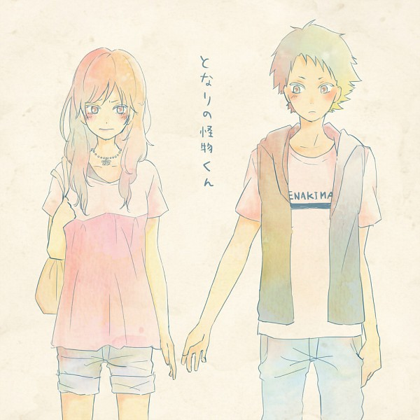 Tags: Anime, Pixiv Id 109550, Tonari no Kaibutsu-kun, Sasahara Sohei, Natsume Asako, Pixiv, Fanart, Fanart From Pixiv, The Monster Next To Me