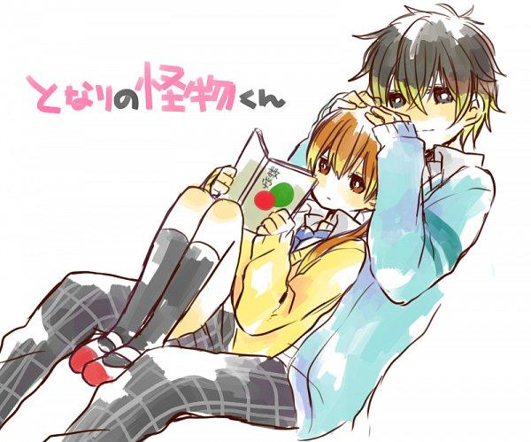 Tags: Anime, Pixiv Id 1496866, Tonari no Kaibutsu-kun, Yoshida Haru, Mizutani Shizuku, The Monster Next To Me