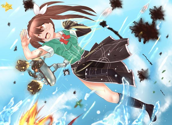 Tags: Anime, Pixiv Id 9150155, Kantai Collection, Tone (Kantai Collection)