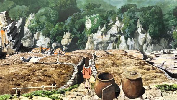 Tags: Anime, Giniro no Kami no Agito, Toola, Village, Wallpaper