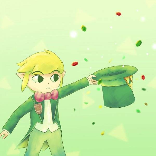 Tags: Anime, Pixiv Id 4149214, Super Smash Bros., Link, Toon Link