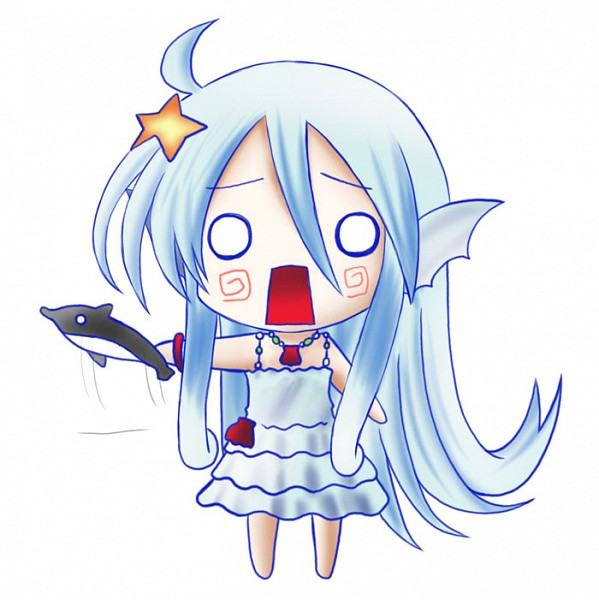 Tags: Anime, Pixiv Id 527377, Cardfight!! Vanguard, Top Idol Aqua, Pixiv, Fanart, Vanguard Unit, Vanguard Race: Mermaid, Bermuda △