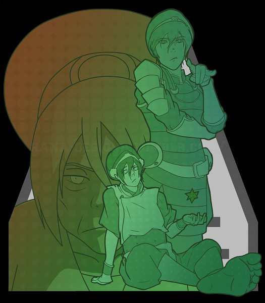 Tags: Anime, Hana-designs, Avatar: The Last Airbender, Toph Bei Fong, Blind, Earth Kingdom, Tumblr, Fanart From Tumblr, Fanart