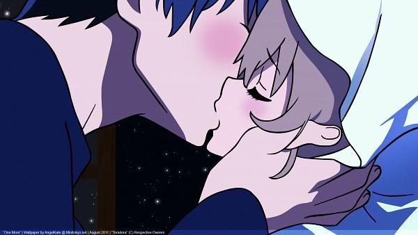 Tags: Anime, Toradora!, Aisaka Taiga, Takasu Ryuuji, Wallpaper, HD Wallpaper