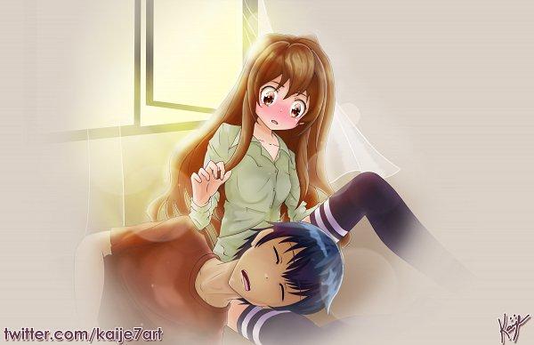 Tags: Anime, Pixiv Id 38427219, Toradora!, Aisaka Taiga, Takasu Ryuuji