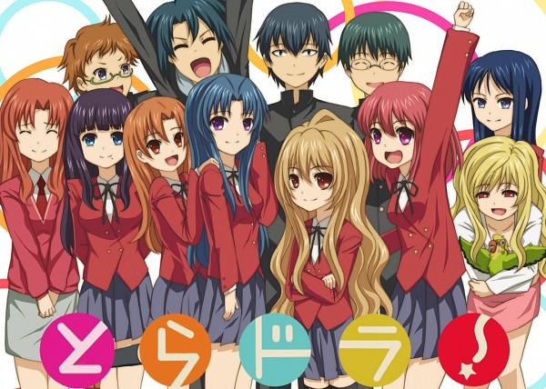 Tags: Anime, Toradora!, Takasu Ryuuji, Kushieda Minori, Inko-chan, Kawashima Ami, Aisaka Taiga, Fanart
