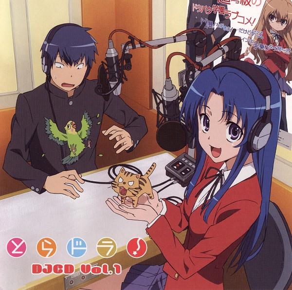 Tags: Anime, Tanaka Masayoshi, Toradora!, Inko-chan, Kawashima Ami, Palmtop Tiger, Aisaka Taiga, Takasu Ryuuji, CD (Source), Official Art