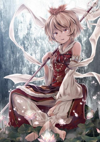 Tags: Anime, Supertie, Touhou, Toramaru Shou, Mobile Wallpaper, Scan, Shou Toramaru