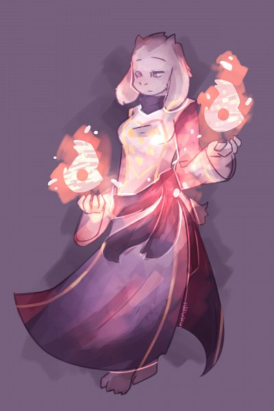 Tags: Anime, Undertale, Toriel, Artist Request