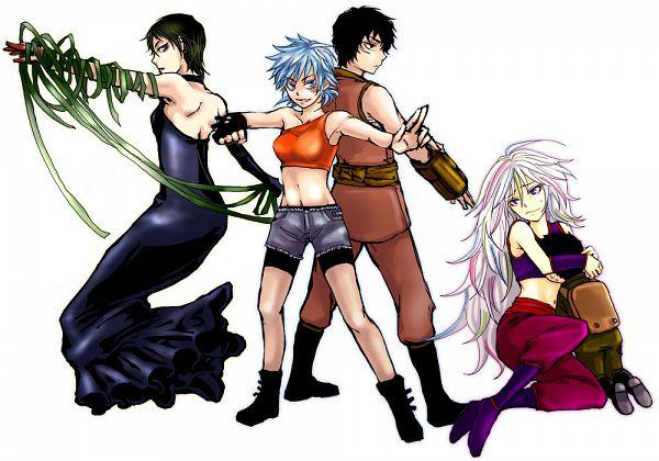 Tags: Anime, Pixiv Id 34698, Toriko, Coco (Toriko), Sani (Toriko), Toriko (Character), Rin (Toriko), Komatsu (Toriko), Fanart, Pixiv, Shitennou