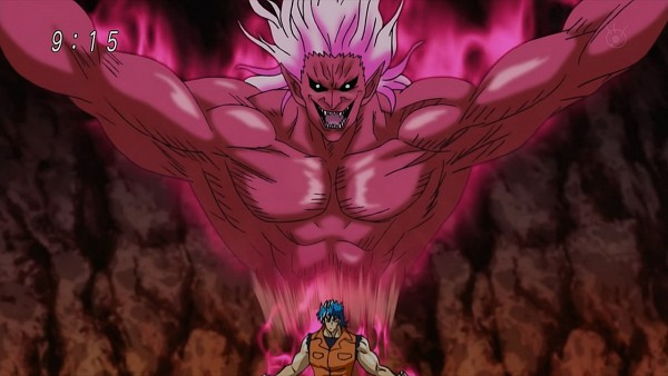 Tags: Anime, Shimabukuro Mitsutoshi, Toriko, Toriko (Character), Red Skin, Wallpaper, Screenshot