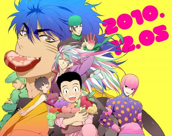 Tags: Anime, Pixiv Id 37546, Toriko, Komatsu (Toriko), Coco (Toriko), Sani (Toriko), Tommyrod, Toriko (Character), Fanart, Shitennou, Bishokukai