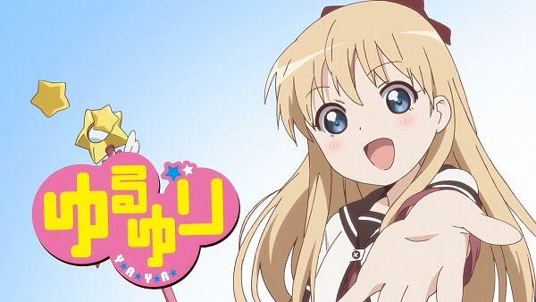 Tags: Anime, Yuru Yuri, Toshinou Kyouko, HD Wallpaper, Wallpaper, Yuru Yuri - Eyecatcher, Eyecatcher